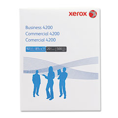 Xerox 3R2047: Business 4200 Copy Paper, 92 Brightness, 20lb, 8-1/2 x 11, White, 5000 Shts / Ctn