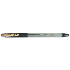 Zebra Pen 23810: Z-1 Ballpoint Stick Pen, Black Ink, Medium, Dozen