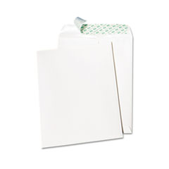 Quality Park 77397: Tech No Tear Catalog Envelope, Poly Lining, 10 x 13, White, 100 / box