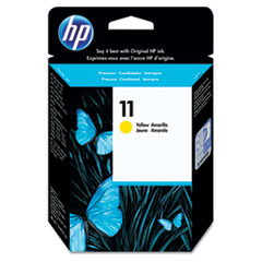 HP C4838A: Hp 11, c4838a Yellow Original Ink Cartridge