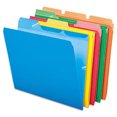 Pendaflex 42338: Ready-Tab File Folders, 1/3 Cut Top Tab, Letter, Assorted Colors, 50 / pack