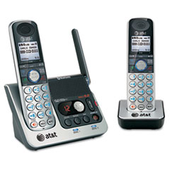 AT&T TL92270: TL92270 DECT 6.0 Dual Handset System with Bluetooth Answering Machine