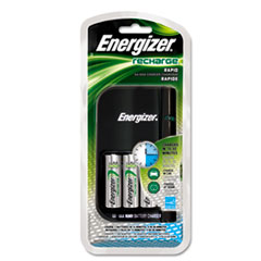 Energizer CH15MNCP4: Charger, for 4 AA or AAA Nimh Batteries, 15-Minute Charge Cycle