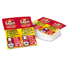 Folgers 06931: Coffee Premeasured Packs, Classic Roast Regular, 1.05oz Vacket Pack, 42 / Carton