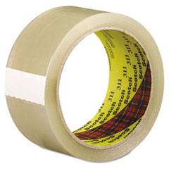 Scotch 2120088292: Scotch 311 Box Sealing Tape, Clear, 48mm x 100m