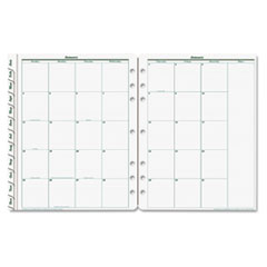 Franklin Covey 3540016: Original Dated Monthly Planner Refill, January-December, 8 1/2 x 11, 2016