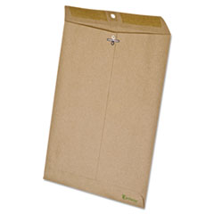 Ampad 19705: Earthwise By Ampad 100 Recycled Paper Clasp Envelope, 9 x 12, Brown, 110 / box