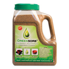 GreenSorb GS4: Eco-Friendly Sorbent, Clay, 4 lb Shaker Bottle