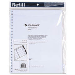 At A Glance 7092377: Three / Five-Year Monthly Planner Refill, 9 x 11, White, 2017