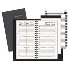 At A Glance 7000805: Compact Weekly Appointment Book, 3 1/4 x 6 1/4, Black, 2018