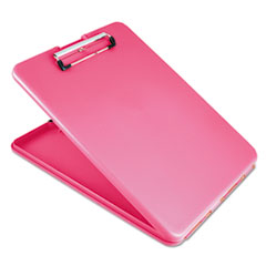 Saunders 00835: Slimmate Storage Clipboard, 1/2 Clip Cap, 8 1/2 x 11 Sheets, Pink