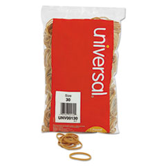 Universal 00130: Rubber Bands, Size 30, 2 x 1/8, 1100 Bands / 1lb Pack