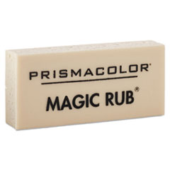 Prismacolor 73201: MAGIC RUB Art Eraser, Vinyl, Dozen