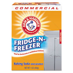 Arm & Hammer 84011: Fridge-N-Freezer Pack Baking Soda, Unscented, Powder