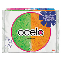 Ocelo by 3M 7274T: O-Cel-O Sponge with 3m Stayfresh Technology, 4 7/10 x 3 x 3/5, 4 / pack