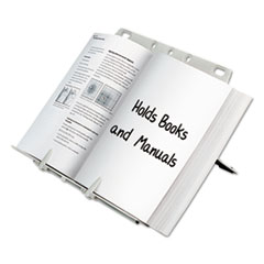 Fellowes 21100: Booklift Copyholder, Plastic, One Book / pad, Platinum