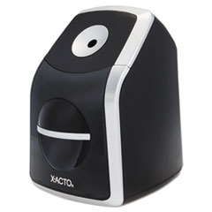X-Acto 1771: SharpX Classic Electric Pencil Sharpener, Black / Silver