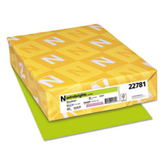 Neenah Paper 22781: Color Cardstock, 65lb, 8 1/2 x 11, Terra Green, 250 Sheets