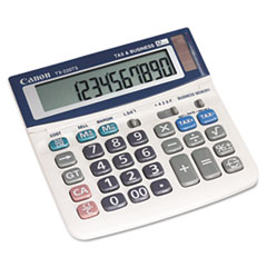 Canon TX220TS: TX220TS Mini Desktop Handheld Calculator, 12-Digit LCD