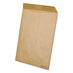 Ampad 19706: Earthwise By Ampad 100 Recycled Paper Catalog Envelope, 9 x 12, Kraft, 110 / bx