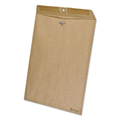 Ampad 19709: Earthwise By Ampad 100 Recycled Paper Envelope, 10 x 13, Brown, 110 / box