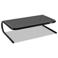Allsop 30336: Metal Art Monitor Stand, 18 1/2 x 12 1/4 x 5 1/4, Black
