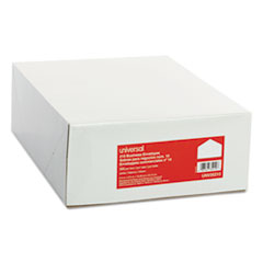 Universal 35210: Business Envelope, 10, 4 1/8 x 9 1/2, White, 500 / box