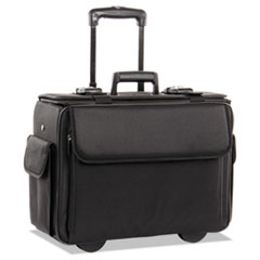 Stebco 261710BLK: STEBCO Collection Catalog / Computer Case on Wheels, Nylon, 18 x 8 x 13, Black