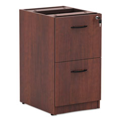 Alera VA542822MC: Alera Valencia for F Drawer Full Pedestal, 15 5/8 x 20 1/2 x 28 1/2, Medium Cherry