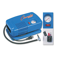 Champion Sports EP1500: Electric Inflating Pump with gauge, Hose Needle,.25hp Compressor