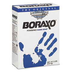Boraxo 02203EA: Powdered Original Hand Soap, Unscented Powder, 5lb Box