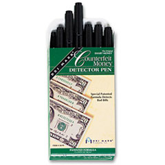 Dri Mark 351R1: Smart Money Counterfeit Bill Detector Pen for Use with U.S. Currency, Dozen