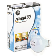 GE 48688: Incandescent Globe Bulbs, 60 Watts, 4 / Pack