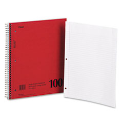 Mead 06546: DuraPress Cover Notebook, College Rule, 8 1/2 x 11, White, 100 Sheets