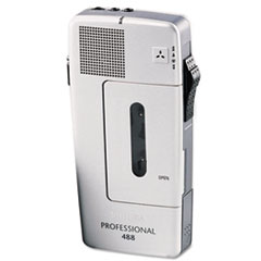 Philips LFH048800B: Pocket Memo 488 Slide Switch Mini Cassette Dictation Recorder