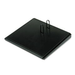 At A Glance E2100: Desk Calendar Base, Black, 4 1/2 x 8