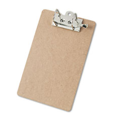 Saunders 05712: Arch Clipboard, 2 Capacity, Holds 8-1/2 w x 12 h, Brown