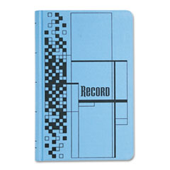Adams Business Forms ARB712CR5: Record Ledger Book, Blue Cloth Cover, 500 7 1/4 x 11 3/4 Pages