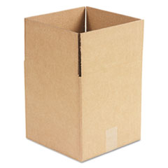 United Facility Supply 101010: Brown Corrugated Cubed Fixed-Depth Shipping Boxes, 10l x 10w x 10h, 25 / bundle