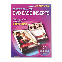 Avery 98173 dvd case inserts laser inkjet white 20 for Avery dvd case template
