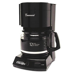 Classic Coffee Concepts CC123: 12-Cup Commercial Automatic Drip Coffee Maker, Black