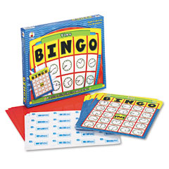 Carson-Dellosa CD8925: Time Bingo, Ages 6 Up