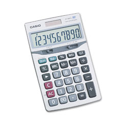 Casio JF100TV: Jf100Tv Executive Portable Desktop / Handheld Calculator, 10-Digit Lcd