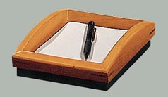 Eldon 19211: Executive Woodline II Memo Sheet Holder, Cherry Finish