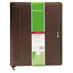 Day Runner 3070304: Express Harrison Refillable Planner, 8-1/2 x 11, Brown