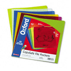 Oxford 53296: Copysafe File Pockets