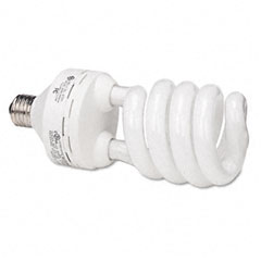 GE 24688: Compact Fluorescent Bulb, 45 Watts, Spiral, Soft White