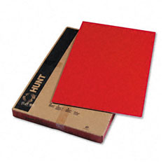 Bienfang 950052: Colored Foam Board, 20 x 30, Red, 10 / Carton