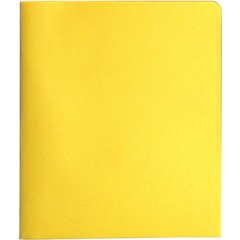 Smead 88062: Two-Pocket Folders with Tang Strip Style Fastener 1/2 Folder Capacity 9 3/4 x 11 1/2 Sheet Size 3 Fastener s 2 Internal Pocket s Yellow Recycled 25 / Box