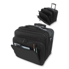 Stebco 263700BLK: Carrying Case for 15.4 Document Black Ballistic Nylon 14.5 Height x 14 Width x 9.5 Depth